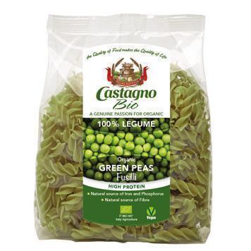 Fusilli groene erwten (250g)