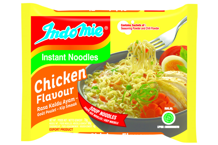 Indo Mie Instant Noodles Kip Smaak 70 g (70g)