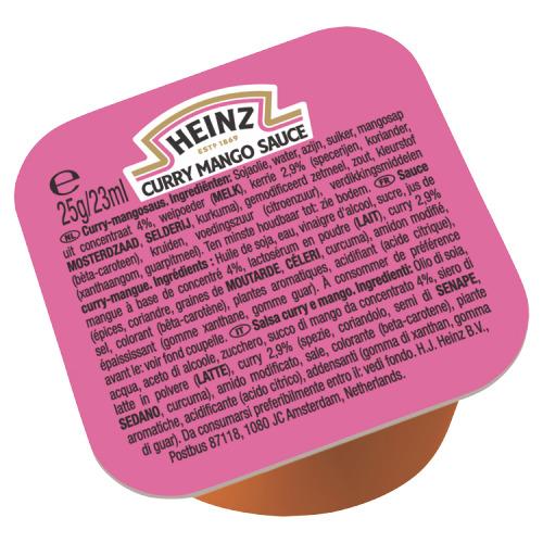 Heinz Curry Mango Sauce 100 x 25 g (25g)