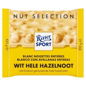 Hele hazelnoot wit (Stuk, 100g)