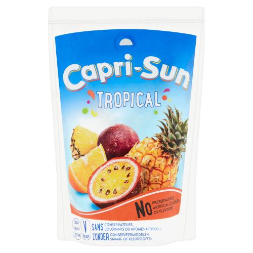 Capri-Sun Tropical Orange Stevia Pouch 0.2L 1x (200ml)
