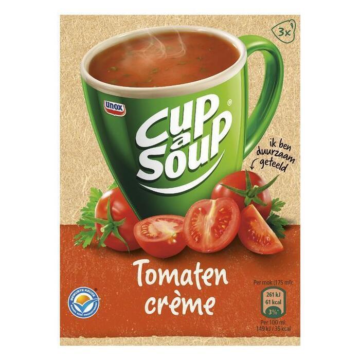 Cup-a-Soup tomaten-crèmesoep (zak, 3 × 16g)