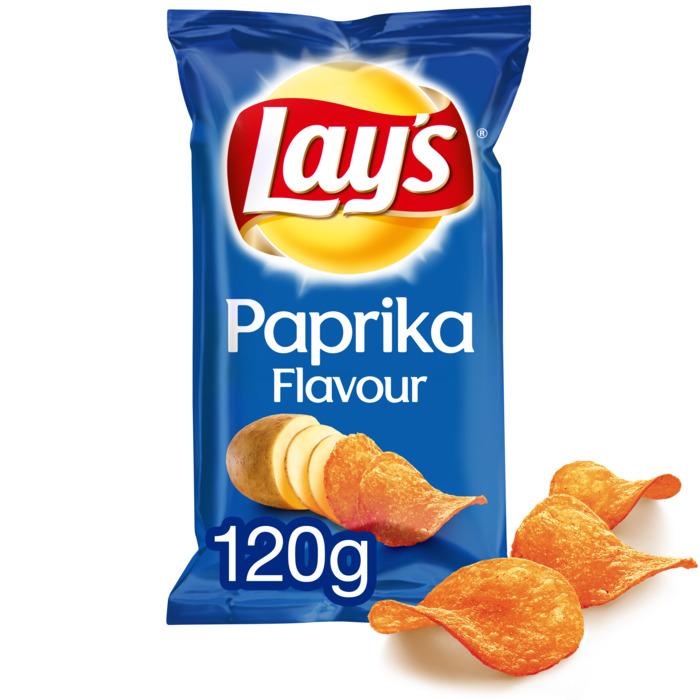 Paprika chips (zak, 120g)