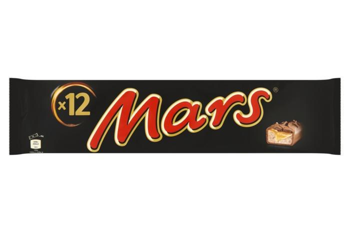 MARS Chocolade met vulling 540 GRM Multi-pack (12 × 45g)