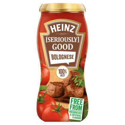 Heinz Seriously Good Bolognese 490 g (490g)
