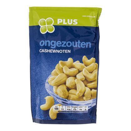Cashewnoten ongezouten (150g)