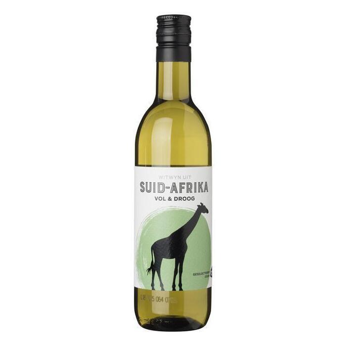 Volle Zuid-Afrikaanse huiswijn chardonnay (fles, 250ml)