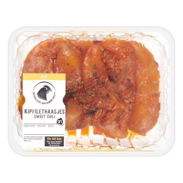 AH Kipfilethaasjes sweet chili (395g)