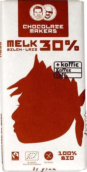 Awajun bar 30% met koffie (85g)