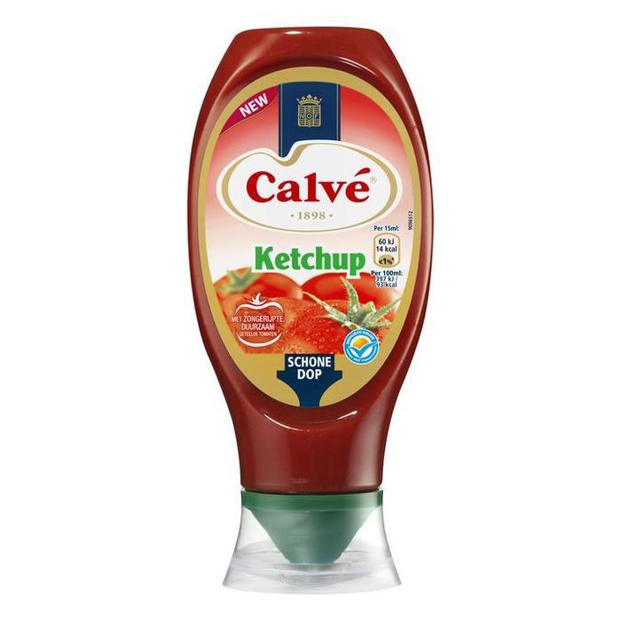 Calvé Ketchup Saus 430ml (fles, 430 × 43cl)