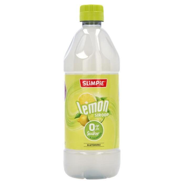 Slimpie Limonadesiroop lemon suikervrij (0.58L)