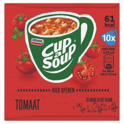 Unox Cup-a-soup tomaat 10 pack (10 × 18g)