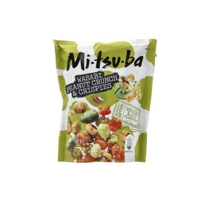 Mitsuba Wasabi peanut crunch & crispies (100g)