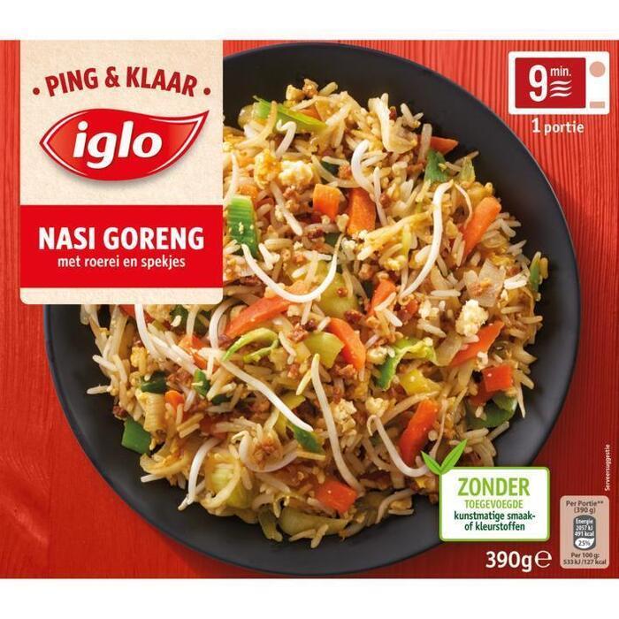 Iglo Ping & Klaar Nasi Goreng (390g)