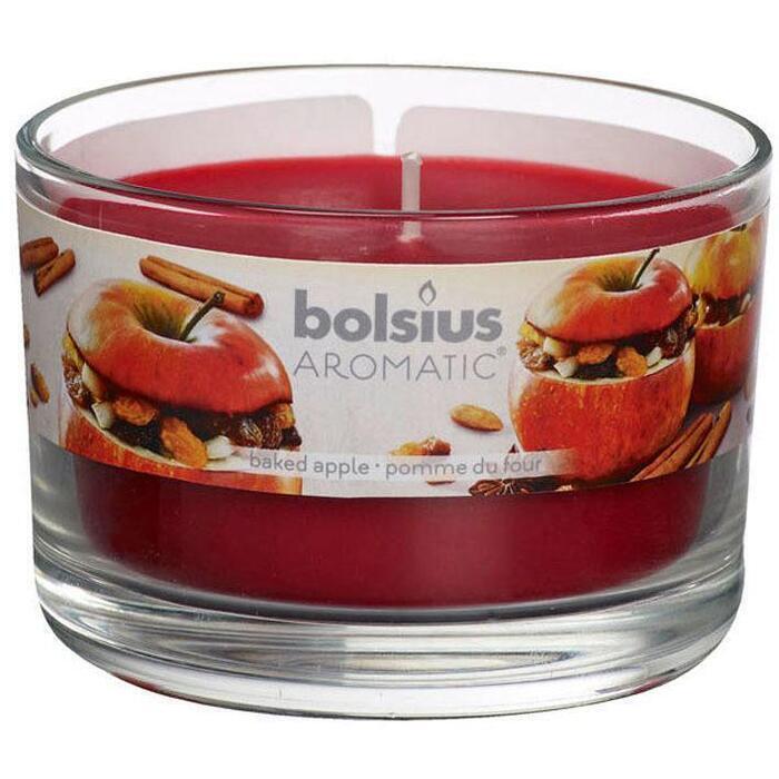 Bolsius Geurglas baked apple