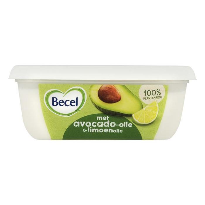 Becel Avocado olie boter (kuipje, 225g)