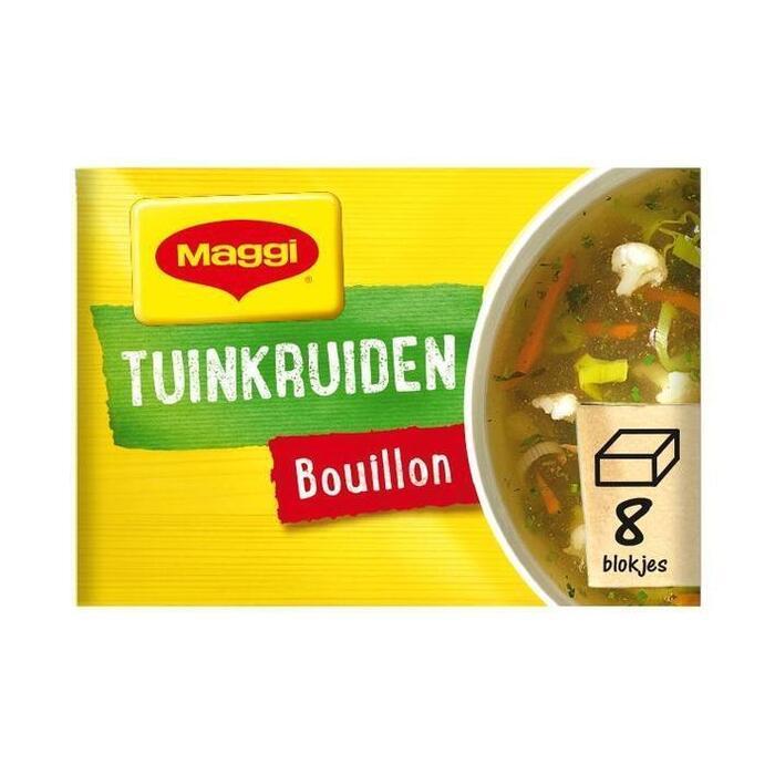 Tuinkruiden Bouillon (tabl, 8 × 80g)