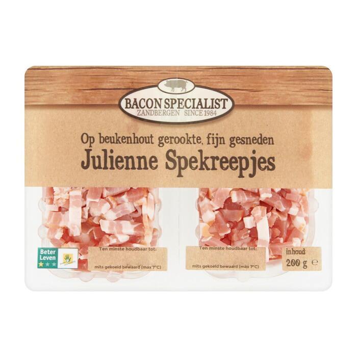 Julienne spekreepjes (200g)
