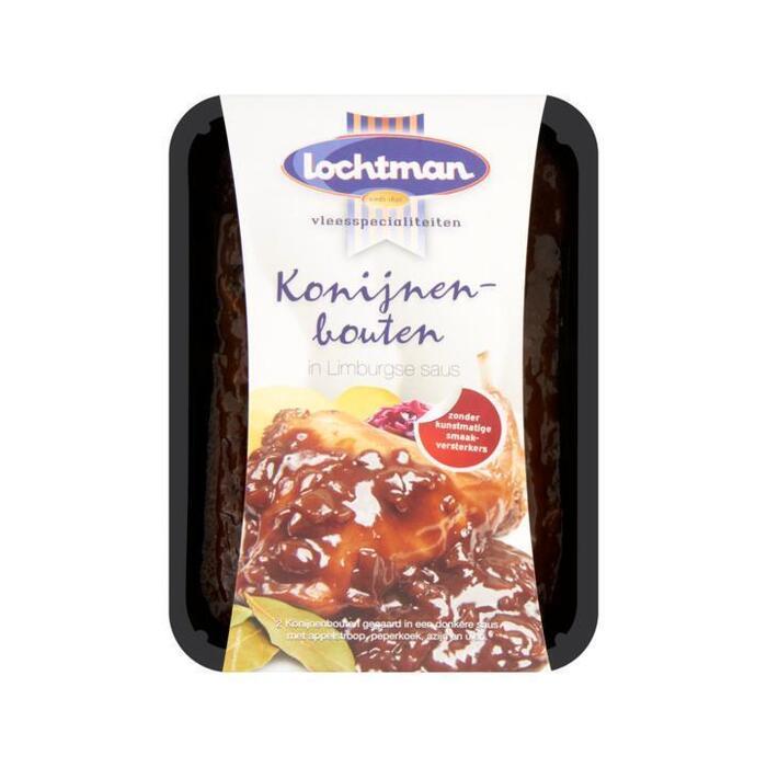 Lochtman Konijnenbouten in Limburgse Saus 800g (800g)