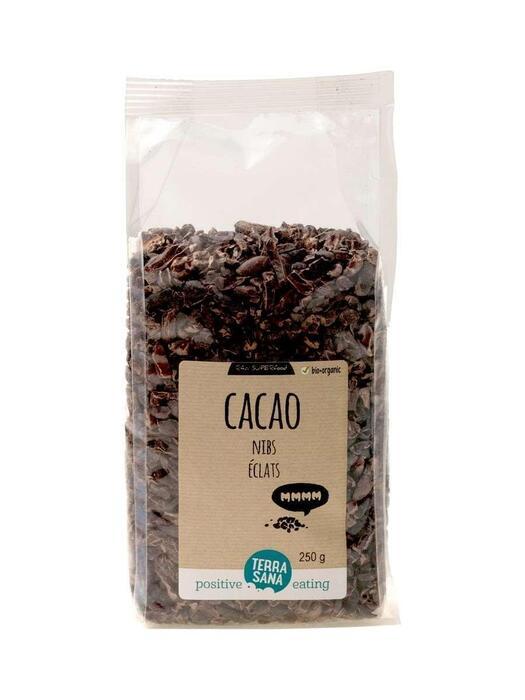RAW Cacao Nibs TerraSana 250g (250g)
