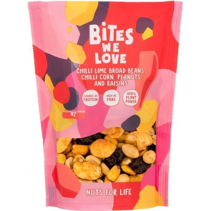 BitesWeLove Chilli lime peanut mix (140g)