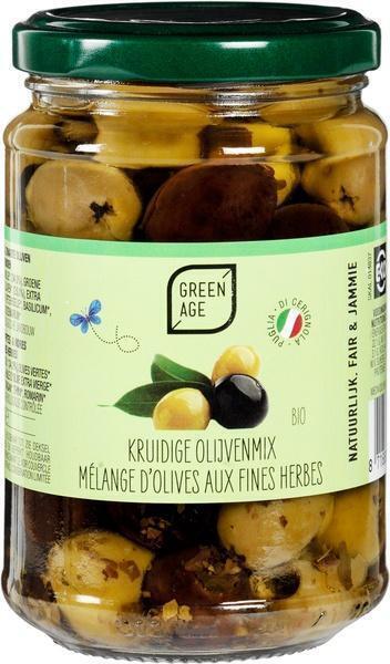 Kruidige olijvenmix (280g)