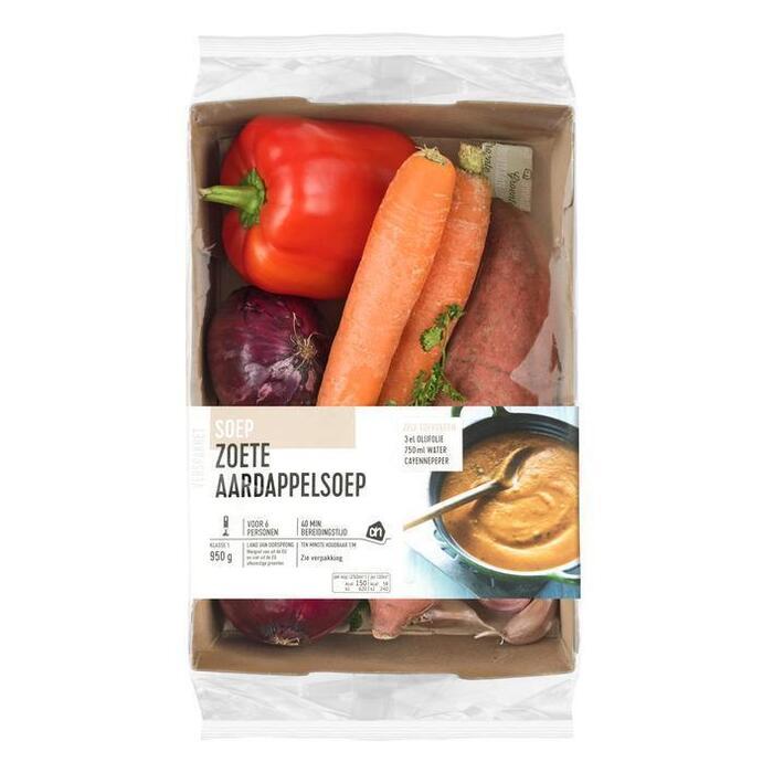 AH Zoete aardappelsoep verspakket (1.3kg)