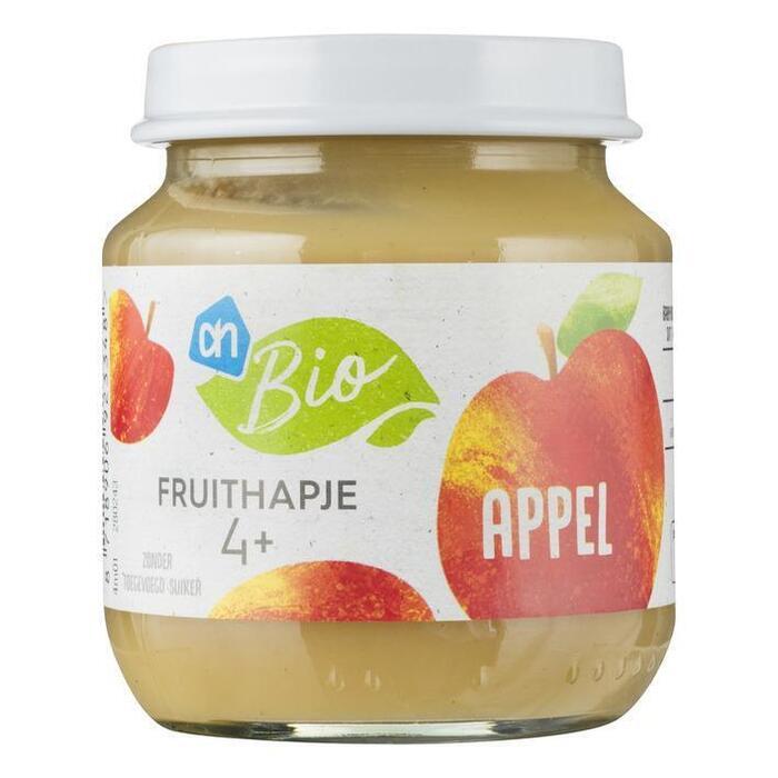 AH Biologisch Fruithapje appel 4m (125g)