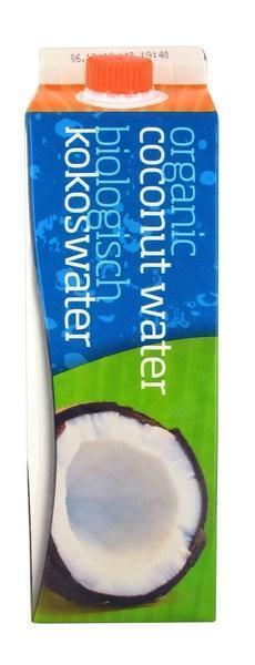 Biologische kokoswater (pak, 1L)