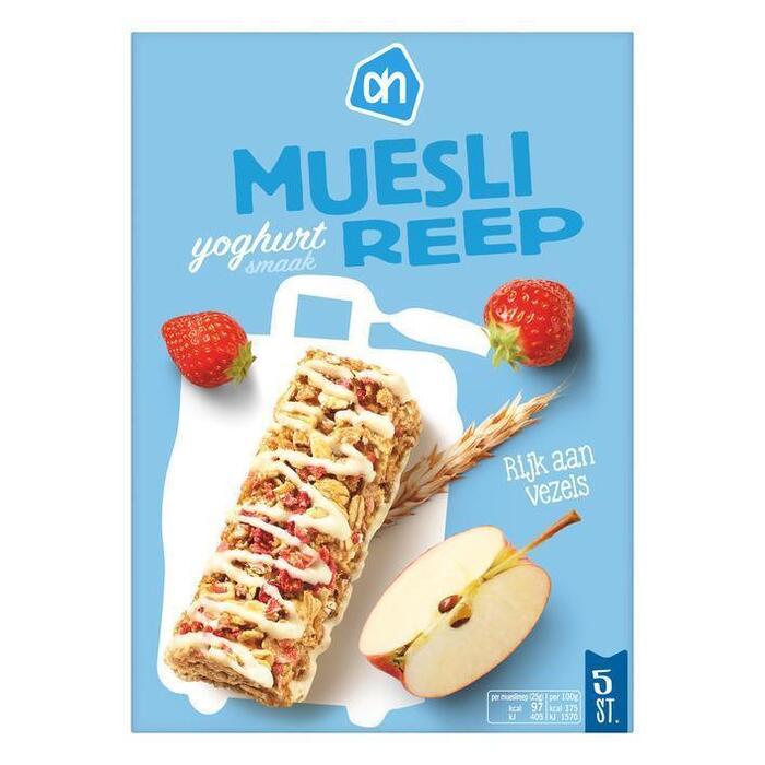 AH Mueslireep yoghurt (5 × 25g)