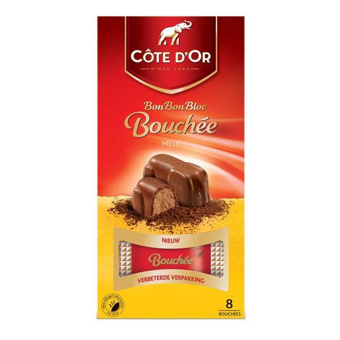 BonBonBloc Bouchée melk (8 × 25g)