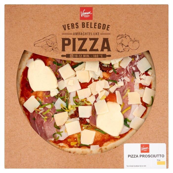 Vomar Verse Pizza Prosciutto (410g)