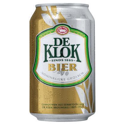 De Klok Bier Pilsener (rol, 33 × 33cl)