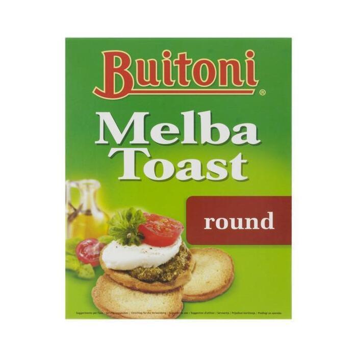 Melba toast rondjes (100g)