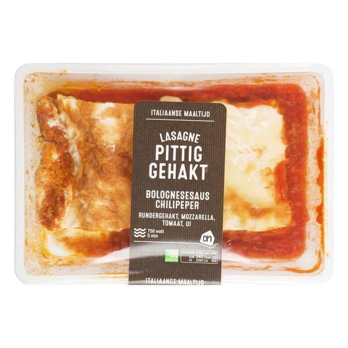 AH Verse lasagne met pittig gehakt (450g)