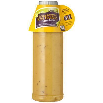 Smoothie kiwi-banaan (pet fles, 0.5L)