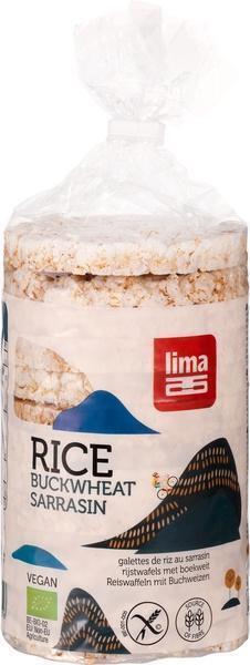 Rijstwafels met boekweit (zak, 100g)