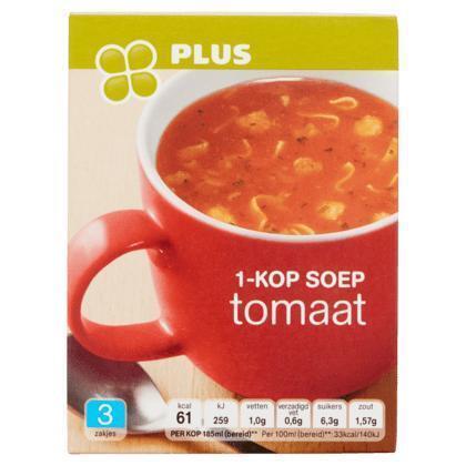 1-Kop soep tomaat (Doos, 33g)