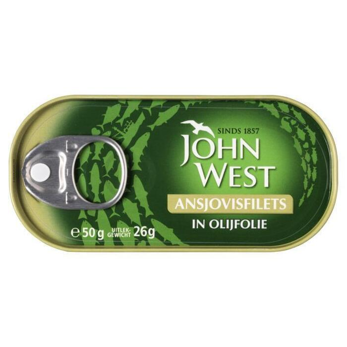 John West Ansjovis in olijfolie (50g)