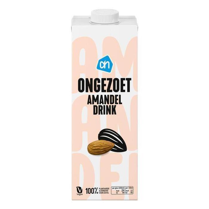 AH Amandel drink ongezoet (1L)