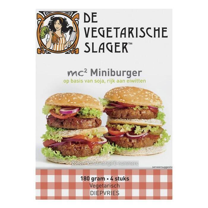 Vegetarische Slager MC2 miniburger (180g)