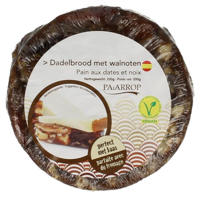 Paiarrop Dadel walnoot broodje (200g)