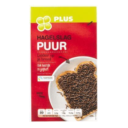 Pure chocolade hagelslag (400g)