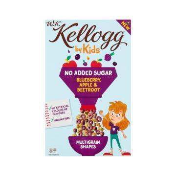 W.K Kellogg by Kids No Added Sugar Blueberry, Apple & Beetroot 300 g (300g)