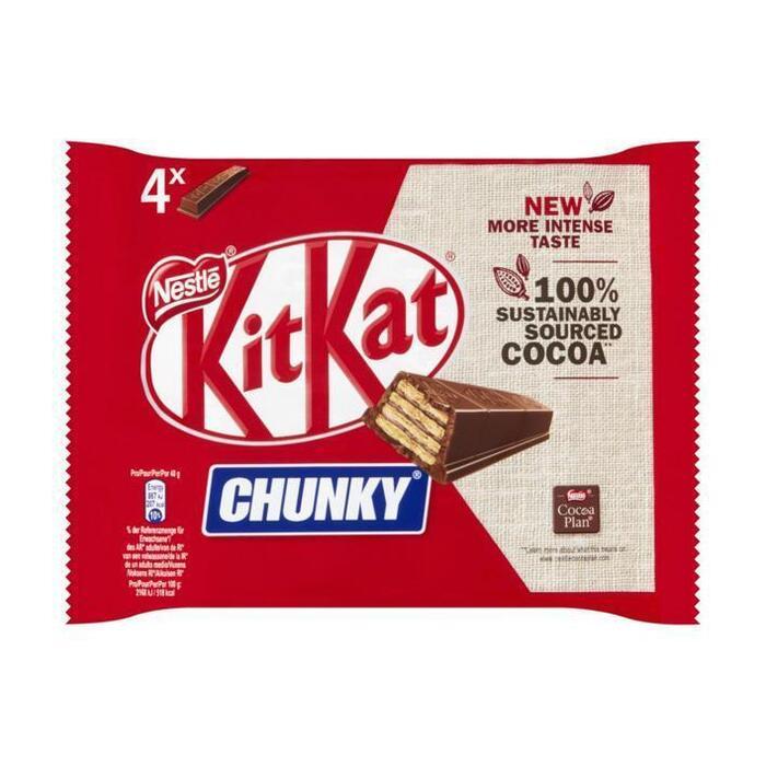 Kitkat Chunky milk (4 × 160g)