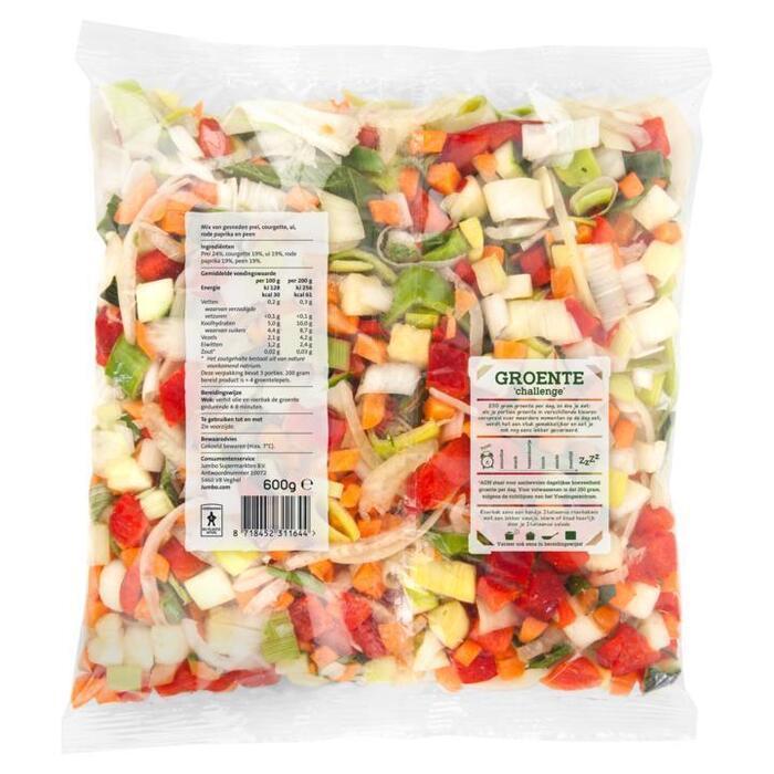 Jumbo Italiaanse Roerbakmix Voordeelverpakking 600 g (600g)