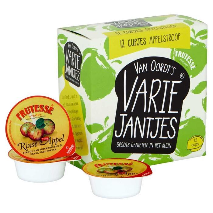 Van Oordt's VarieJantjes Appelstroop 12 x 15g (15g)