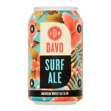 Davo Surf Ale Blik 330 ml (rol, 33cl)