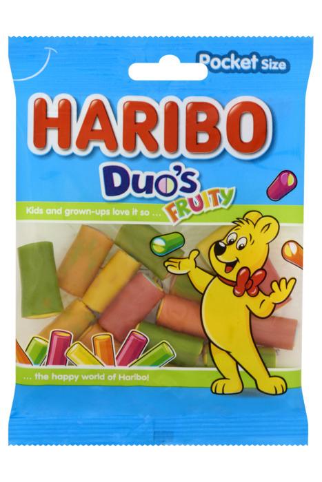 Haribo Duo's Fruity Pocket Size 70 g (70g)
