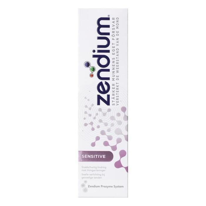 Zendium Tandpasta sensitive (75ml)